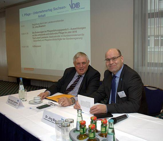 Pflege-Unternehmertag des Verbandes Deutscher Alten- und Behindertenpflege e.V. (VDAB)
