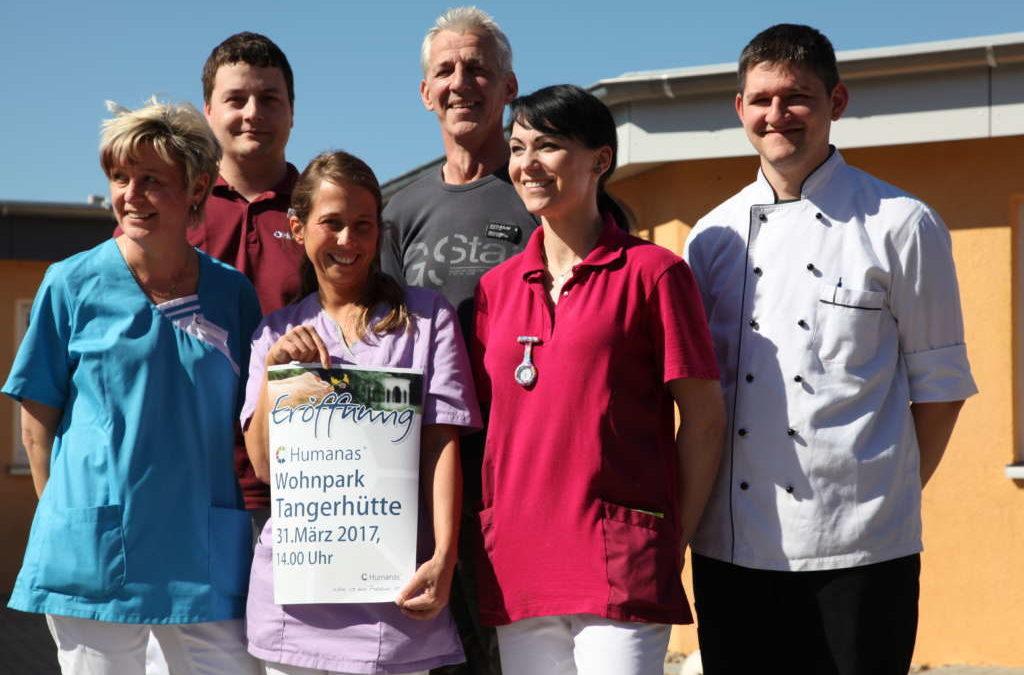 Feierliche Eröffnung des Humanas Wohnpark Tangerhütte