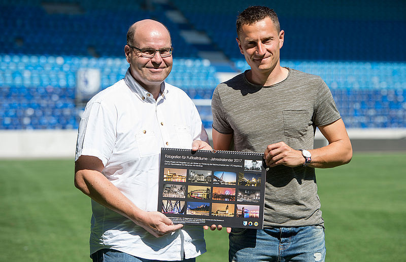 Fotografien für Fußballträume – Charity-Projekt mit Fotografien von FCM-Torwart Jan Glinker