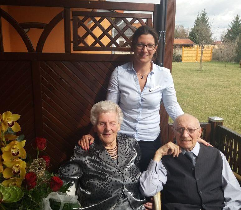 DieEiserne Hochzeit– nach 65 Jahren Ehe – wird immer seltener und somit immer wertvoller