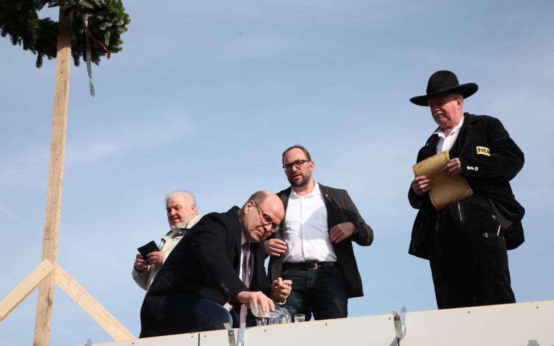 Richtfest im Wohnpark Biederitz OT Heyrothsberge