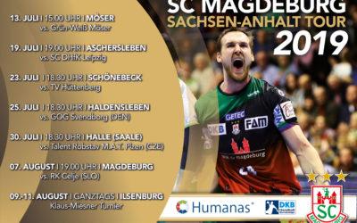 Humanas auf Sommertour mit dem SC Magdeburg