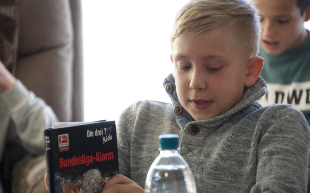 'Lesen ist ein grenzenloses Abenteuer der Kindheit'
